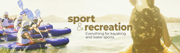 Sports & Recreation, Everything for kayaking and water sports