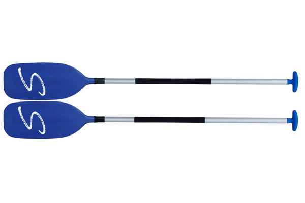 Combination paddle, 4-piece combination paddle for kayak and canoe. From Schlegel. Made in Germany.